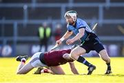 27 October 2019; Aidan Rochford of St Anne's and Daithi Waters of St Martin's during the Wexford County Senior Club Hurling Championship Final between St Martin's and St Anne's at Innovate Wexford Park in Wexford. Photo by Stephen McCarthy/Sportsfile