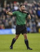 27 October 2019; Referee David Gough during the Meath County Senior Club Football Championship Final match between Ratoath and Summerhill at Páirc Tailteann in Navan, Co Meath. Photo by Seb Daly/Sportsfile