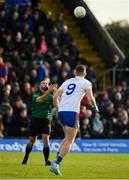 27 October 2019; Referee David Gough throws the ball in during the Meath County Senior Club Football Championship Final match between Ratoath and Summerhill at Páirc Tailteann in Navan, Co Meath. Photo by Seb Daly/Sportsfile