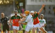 27 October 2019; Richie Reid of Ballyhale Shamrocks in action against Conor Browne of James Stephens during the Kilkenny Senior Hurling Club Championship Final match between James Stephens and Ballyhale Shamrocks at UPMC Nowlan Park in Kilkenny. Photo by Ray McManus/Sportsfile