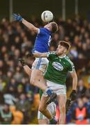 27 October 2019; Ciaran Thompson of Naomh Conaill in action against Michael Carroll of Gaoth Dobhair during the Donegal County Senior Club Football Championship Final Replay match between Gaoth Dobhair and Naomh Conaill at Mac Cumhaill Park in Ballybofey, Donegal. Photo by Oliver McVeigh/Sportsfile