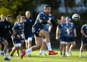 28 October 2019; Adam Byrne during Leinster Rugby squad training at Rosemount in UCD, Dublin. Photo by Ramsey Cardy/Sportsfile