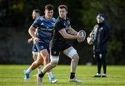 28 October 2019; Ronan Watters, right, and Dan Sheehan during Leinster Rugby squad training at Rosemount in UCD, Dublin. Photo by Ramsey Cardy/Sportsfile