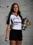 29 October 2019; Four-time All-Ireland winner, Cork's Amy O'Connor, who just received an All-Star, is pictured at the announcement that Littlewoods Ireland will renew its sponsorship of the All-Ireland Senior Hurling Championship, the Littlewoods Ireland Camogie Leagues and the GAA Go Games Provincial Days for three years until 2022. Littlewoods Ireland has also launched new social channels for fans to see exclusive GAA content and have access to exclusive GAA competitions. For #StyleOfPlay content and behind the scenes action follow @LWI_GAA on Facebook, Instagram, Twitter and blog.littlewoodsireland.ie. Photo by Ramsey Cardy/Sportsfile