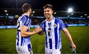 26 October 2019; Darragh Nelson, right, and Sean Gibbons of Ballyboden St Endas celebrate following the Dublin County Senior Club Football Championship semi-final match between Ballyboden St Endas and St Judes at Parnell Park, Dublin. Photo by David Fitzgerald/Sportsfile