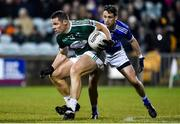 30 October 2019; Kevin Cassidy of Gaoth Dobhair in action against Brendan McDyer of Naomh Conaill during the Donegal County Senior Club Football Championship Final 2nd Replay match between Gaoth Dobhair and Naomh Conaill at Mac Cumhaill Park in Ballybofey, Donegal. Photo by Oliver McVeigh/Sportsfile