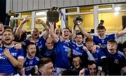 30 October 2019; Ciaran Thompson of Naomh Conaill and team-mates celebrate with the Dr Maguire cup after the Donegal County Senior Club Football Championship Final 2nd Replay match between Gaoth Dobhair and Naomh Conaill at Mac Cumhaill Park in Ballybofey, Donegal. Photo by Oliver McVeigh/Sportsfile