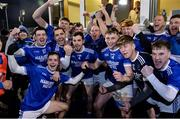 30 October 2019; Naomh Conaill players celebrate with after the Donegal County Senior Club Football Championship Final 2nd Replay match between Gaoth Dobhair and Naomh Conaill at Mac Cumhaill Park in Ballybofey, Donegal. Photo by Oliver McVeigh/Sportsfile