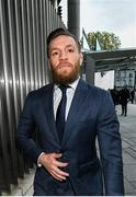 1 November 2019; Conor McGregor leaves The Criminal Courts of Justice in Dublin. Photo by David Fitzgerald/Sportsfile