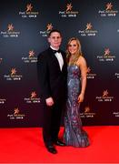 1 November 2019; Dublin footballer Stephen Cluxton with Joanne Cluxton upon arrival at the PwC All-Stars 2019 at the Convention Centre in Dublin. Photo by David Fitzgerald/Sportsfile