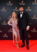 1 November 2019; Mayo footballer Aidan O'Shea with Kristin McKenzie Vass upon arrival at the PwC All-Stars 2019 at the Convention Centre in Dublin. Photo by David Fitzgerald/Sportsfile