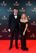 1 November 2019; Laois hurler Paddy Purcell with Bridget Foyle upon arrival at the PwC All-Stars 2019 at the Convention Centre in Dublin. Photo by David Fitzgerald/Sportsfile
