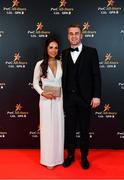 1 November 2019; Tipperary hurler John McGrath with Kirsten McCormack upon arrival at the PwC All-Stars 2019 at the Convention Centre in Dublin. Photo by Seb Daly/Sportsfile