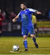 1 November 2019; Raffael Cretaro of Finn Harps during the SSE Airtricity League Promotion / Relegation Play-off Final 2nd Leg between Finn Harps and Drogheda United at Finn Park in Ballybofey, Donegal. Photo by Oliver McVeigh/Sportsfile