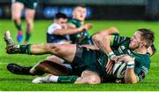 2 November 2019; Kieran Marmion of Connacht is tackled during the Guinness PRO14 Round 5 match between Ospreys and Connacht at Liberty Stadium in Swansea, Wales. Photo by Aled Llywelyn/Sportsfile
