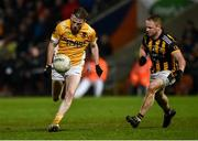 2 November 2019; Michael P O'Dowd of Clontibret O'Neills in action against Paul McKeown of Crossmaglen Rangers during the Ulster GAA Football Senior Club Championship Quarter-Final match between Crossmaglen Rangers and Clontibret O'Neills at Athletic Grounds in Armagh. Photo by Oliver McVeigh/Sportsfile