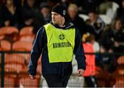 2 November 2019; Clontibret O'Neills manager John McEntee during the Ulster GAA Football Senior Club Championship Quarter-Final match between Crossmaglen Rangers and Clontibret O'Neills at Athletic Grounds in Armagh. Photo by Oliver McVeigh/Sportsfile