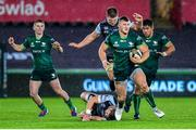 2 November 2019; Peter Robb of Connacht in action during the Guinness PRO14 Round 5 match between Ospreys and Connacht at Liberty Stadium in Swansea, Wales. Photo by Aled Llywelyn/Sportsfile