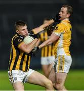 2 November 2019; Oisin O'Neill of Crossmaglen Rangers in action against Conor Boyle of Clontibret O'Neills during the Ulster GAA Football Senior Club Championship Quarter-Final match between Crossmaglen Rangers and Clontibret O'Neills at Athletic Grounds in Armagh. Photo by Oliver McVeigh/Sportsfile