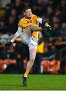 2 November 2019; Conor McManus of Clontibret O'Neills kicks a point during the Ulster GAA Football Senior Club Championship Quarter-Final match between Crossmaglen Rangers and Clontibret O'Neills at Athletic Grounds in Armagh. Photo by Oliver McVeigh/Sportsfile