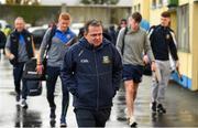 3 November 2019; Sixmilebridge coach Davy Fitzgerald arrives for the AIB Munster GAA Hurling Senior Club Championship Quarter-Final match between Sixmilebridge and Ballygunner at Sixmilebridge in Clare. Photo by Diarmuid Greene/Sportsfile