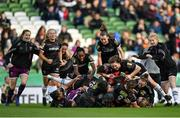 3 November 2019; Wexford Youths players celebrate following their side's victory during the Só Hotels FAI Women's Cup Final between Wexford Youths and Peamount United at the Aviva Stadium in Dublin. Photo by Seb Daly/Sportsfile
