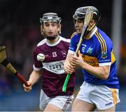 3 November 2019; Alan Flynn of Kiladangan in action against Kevin Maher of Borris-Ileigh during the Tipperary County Senior Club Hurling Championship Final match between  Borris-Ileigh and Kiladangan at Semple Stadium in Thurles, Tipperary. Photo by Ray McManus/Sportsfile