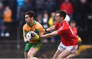 3 November 2019; Ian Burke of Corofin in action against Rory O'Connor of Tuam Stars during the Galway County Senior Club Football Championship Final Replay match between Corofin and Tuam Stars at Tuam Stadium in Galway. Photo by Daire Brennan/Sportsfile