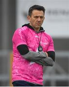 3 November 2019; Clonkill manager Kevin O'Brien ahead of the AIB Leinster GAA Hurling Senior Club Championship Quarter-Final match between Clonkill and Ballyhale Shamrocks at TEG Cusack Park in Mullingar, Westmeath. Photo by Ramsey Cardy/Sportsfile