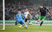 3 November 2019; Ronan Finn of Shamrock Rovers has an attempt on goal during the extra.ie FAI Cup Final between Dundalk and Shamrock Rovers at the Aviva Stadium in Dublin. Photo by Stephen McCarthy/Sportsfile
