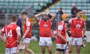 3 November 2019; Darragh O'Connell of Cuala and his team-mates after the AIB Leinster GAA Hurling Senior Club Championship Quarter-Final between St Mullins and Cuala at Netwatch Cullen Park in Carlow. Photo by Matt Browne/Sportsfile