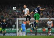 3 November 2019; Patrick Hoban of Dundalk in action against Roberto Lopes of Shamrock Rovers during the extra.ie FAI Cup Final between Dundalk and Shamrock Rovers at the Aviva Stadium in Dublin. Photo by Seb Daly/Sportsfile