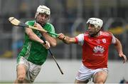 3 November 2019; Marty Kavanagh of St Mullins in action against Daragh O'Connell of Cuala during the AIB Leinster GAA Hurling Senior Club Championship Quarter-Final between St Mullins and Cuala at Netwatch Cullen Park in Carlow. Photo by Matt Browne/Sportsfile