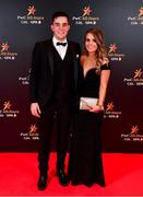 1 November 2019; Paddy Deegan and Eva Maher upon arrival at the PwC All-Stars 2019 at the Convention Centre in Dublin. Photo by David Fitzgerald/Sportsfile