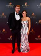 1 November 2019; Stephen McMenamin and Edel McBride upon arrival at the PwC All-Stars 2019 at the Convention Centre in Dublin. Photo by David Fitzgerald/Sportsfile