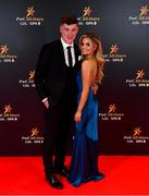 1 November 2019; Conor McDonald and Melissa Tyndall upon arrival at the PwC All-Stars 2019 at the Convention Centre in Dublin. Photo by David Fitzgerald/Sportsfile
