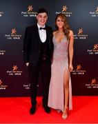1 November 2019; Eoghan O'Donnell and Vanessa Boland upon arrival at the PwC All-Stars 2019 at the Convention Centre in Dublin. Photo by David Fitzgerald/Sportsfile
