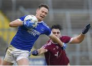 3 November 2019; Ciaran Thompson of Naomh Conaill in action against Cormac Daly of Castlerahan during the AIB Ulster GAA Football Senior Club Championship Quarter-Final match between Castlerahan and Naomh Conaill at Kingspan Breffni in Cavan. Photo by Philip Fitzpatrick/Sportsfile