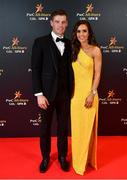 1 November 2019; Paraic Kelly and Caroline Dowling upon arrival at the PwC All-Stars 2019 at the Convention Centre in Dublin. Photo by David Fitzgerald/Sportsfile