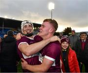 3 November 2019; Brendan Maher, left, and James 'JD' Devaney of Borris-Ileigh celebrate after the Tipperary County Senior Club Hurling Championship Final match between  Borris-Ileigh and Kiladangan at Semple Stadium in Thurles, Tipperary. Photo by Ray McManus/Sportsfile