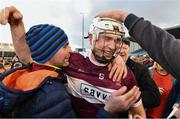 3 November 2019; Brendan Maher of Borris-Ileigh celebrates with supporters after the Tipperary County Senior Club Hurling Championship Final match between  Borris-Ileigh and Kiladangan at Semple Stadium in Thurles, Tipperary. Photo by Ray McManus/Sportsfile
