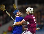 3 November 2019; Billy Seymour of Kiladangan in action against Brendan Maher of Borris-Ileigh during the Tipperary County Senior Club Hurling Championship Final match between  Borris-Ileigh and Kiladangan at Semple Stadium in Thurles, Tipperary. Photo by Ray McManus/Sportsfile