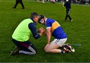 3 November 2019; Borris-Ileigh manager Johnny Kelly consoles Johnny Horan of Kiladangan aftrer the Tipperary County Senior Club Hurling Championship Final match between  Borris-Ileigh and Kiladangan at Semple Stadium in Thurles, Tipperary. Photo by Ray McManus/Sportsfile