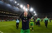 3 November 2019; Neil Farrugia of Shamrock Rovers celebrates following the extra.ie FAI Cup Final between Dundalk and Shamrock Rovers at the Aviva Stadium in Dublin. Photo by Stephen McCarthy/Sportsfile