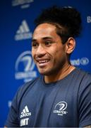 4 November 2019; Joe Tomane during a Leinster Rugby press conference at Leinster Rugby Headquarters in UCD, Dublin. Photo by Ramsey Cardy/Sportsfile