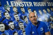 4 November 2019; Backs coach Felipe Contepomi poses for a portrait following a Leinster Rugby press conference at Leinster Rugby Headquarters in UCD, Dublin. Photo by Ramsey Cardy/Sportsfile
