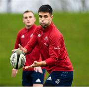 5 November 2019; Conor Murray during a Munster Rugby squad training session at University of Limerick in Limerick. Photo by Matt Browne/Sportsfile