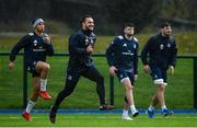 4 November 2019; James Lowe during Leinster Rugby squad training at Energia Park in Donnybrook, Dublin. Photo by Ramsey Cardy/Sportsfile