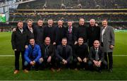 3 November 2019; The Sligo Rovers FAI Cup winning team of 1994 at half-time of the extra.ie FAI Cup Final between Dundalk and Shamrock Rovers at the Aviva Stadium in Dublin. Photo by Stephen McCarthy/Sportsfile