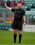 3 November 2019; Referee Michael Murtagh during the AIB Leinster GAA Hurling Senior Club Championship Quarter-Final between St Mullins and Cuala at Netwatch Cullen Park in Carlow. Photo by Matt Browne/Sportsfile